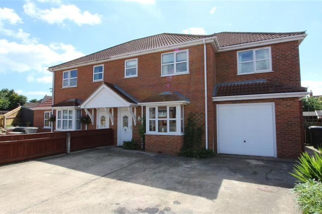 Thumbnail Semi-detached house for sale in Jacklin Drive, Saltfleet, Louth