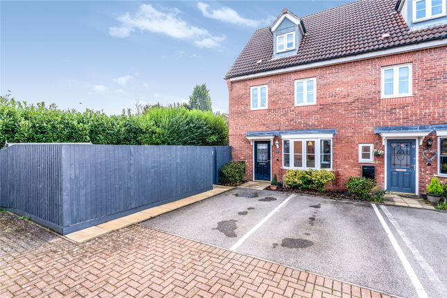 Thumbnail Semi-detached house for sale in Fretter Close, Broughton Astley, Leicester