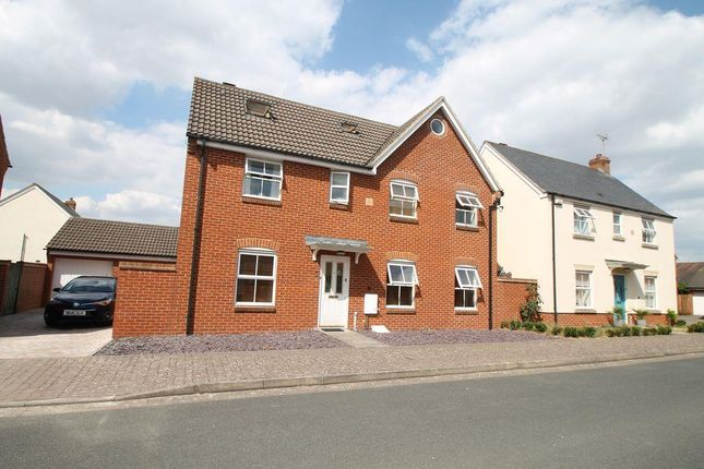 Thumbnail Detached house to rent in Thatcham Road, Walton Cardiff, Tewkesbury