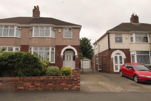 3 bed semi-detached house for sale in Norleane Crescent, Runcorn WA7