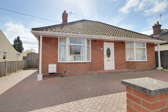 Thumbnail Detached bungalow for sale in Beaumont Road, New Costessey, Norwich