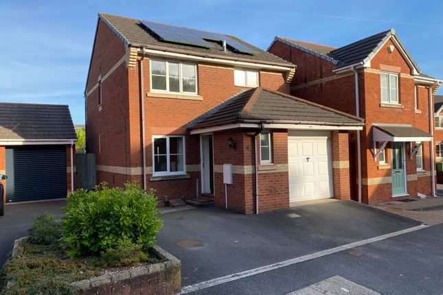 Thumbnail Detached house to rent in Well Oak Park, Exeter, Devon