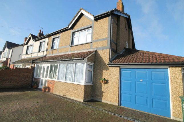 Thumbnail Semi-detached house for sale in Fordbridge Road, Ashford, Surrey