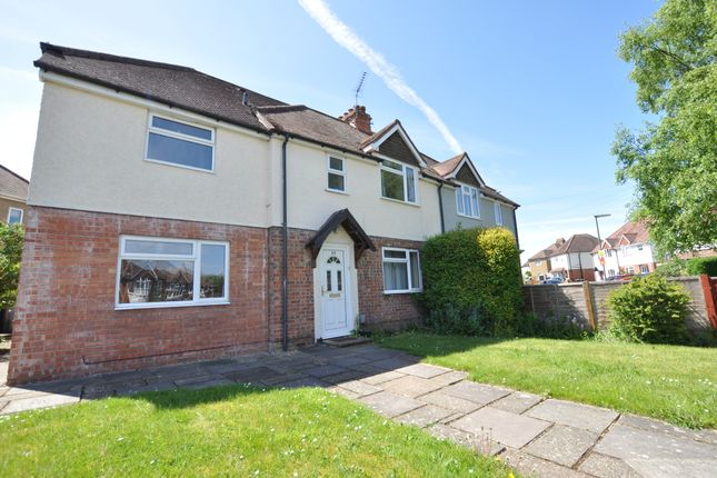 Thumbnail Semi-detached house to rent in Grange Road, Guildford, Surrey