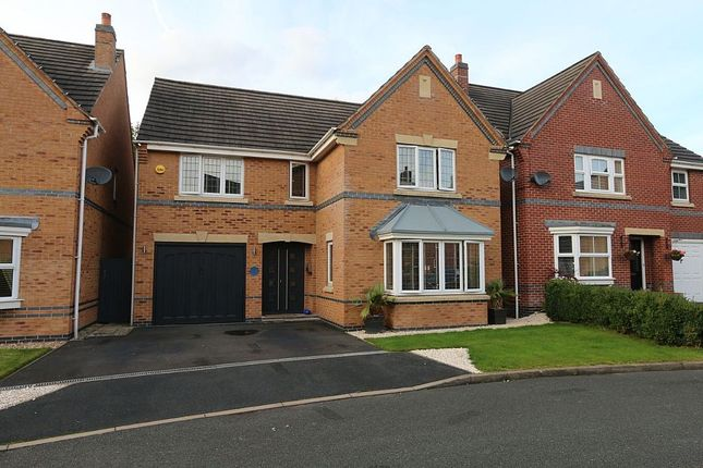 Thumbnail Detached house for sale in Curlew Drive, Brownhills, Walsall, West Midlands