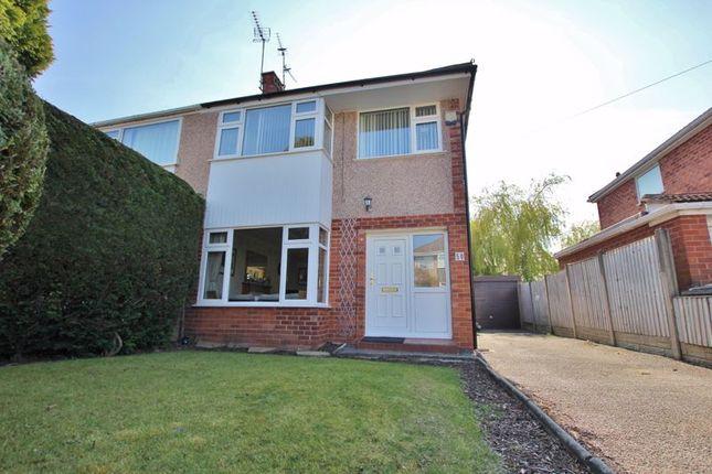 3 bed semi-detached house for sale in Carlton Close, Parkgate, Neston CH64