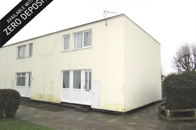Thumbnail Terraced house to rent in Carless Close, Gosport