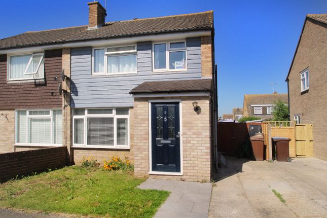 3 bed semi-detached house for sale in Thakeham Close, East Preston, West Sussex BN16