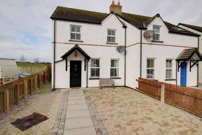 Thumbnail Semi-detached house for sale in Oak Avenue, Ballyhalbert