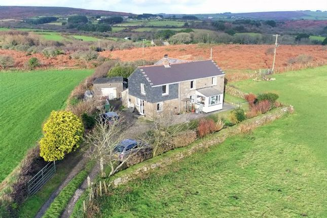 Thumbnail Detached house for sale in Trythall, Newmill, Penzance, Cornwall.