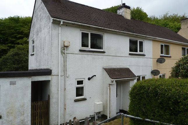 Thumbnail Semi-detached house to rent in Lanchard Rise, Liskeard