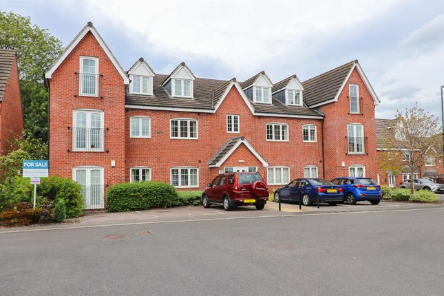 Thumbnail Flat for sale in Princeton House, Old Pheasant Court, Brookside, Chesterfield
