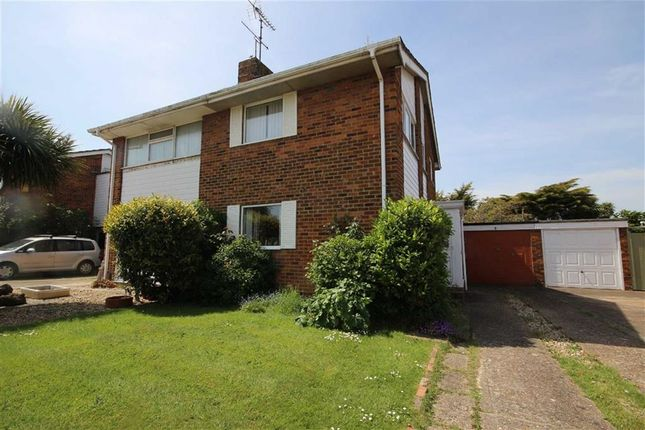 Thumbnail End terrace house for sale in Poling Close, Goring-By-Sea, West Sussex
