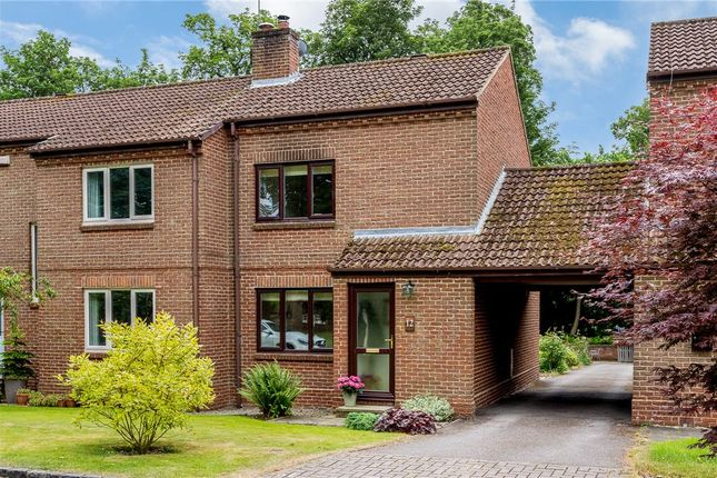Thumbnail End terrace house for sale in Woodland Close, Goldsborough, Knaresborough, North Yorkshire