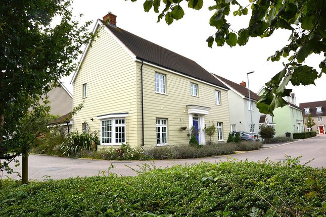 Thumbnail Detached house for sale in Marshalls Way, Little Canfield, Dunmow