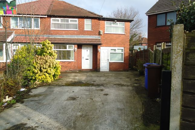 Thumbnail Semi-detached house to rent in Annable Road, Abbey Hey, Manchester