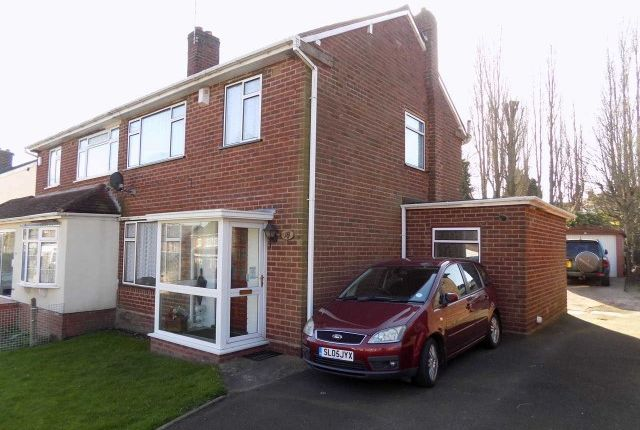 Thumbnail Semi-detached house for sale in St Margarets Road, Great Barr, Birmingham
