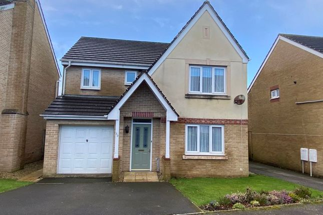 Thumbnail Detached house for sale in Balmoral Crescent, Okehampton