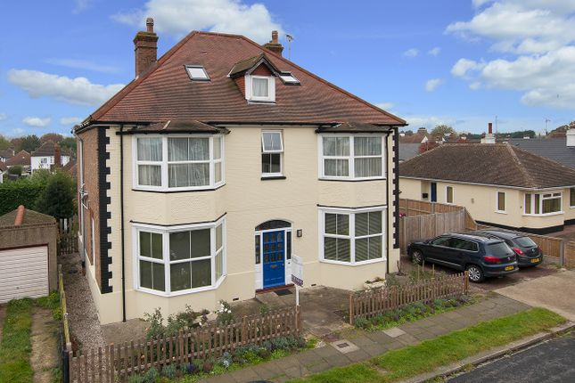 Thumbnail Detached house for sale in Oxenden Park Drive, Herne Bay, Kent