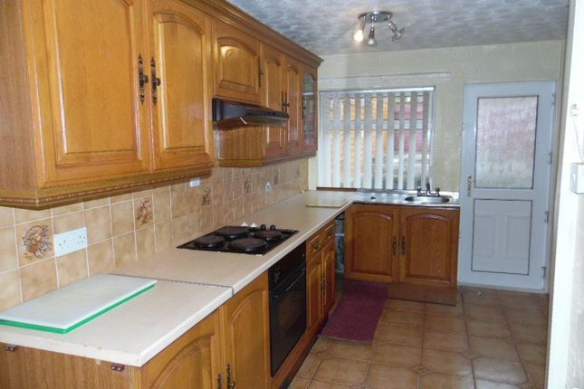 Thumbnail Terraced house to rent in Gurnos Road, Merthyr Tydfil