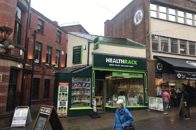 Thumbnail Retail premises for sale in 1 Orchard Street, Preston
