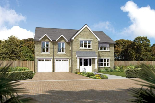 "Thumbnail Detached house for sale in ""Thornewood"" at Cherrytree Gardens, Bishopton"