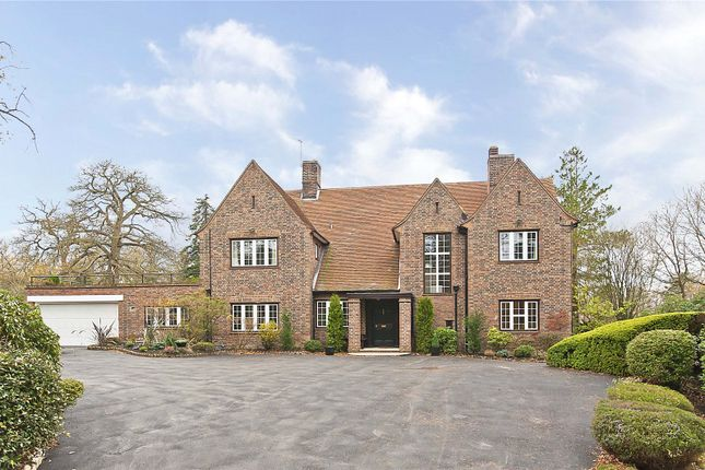 Thumbnail Detached house for sale in South Ridge, St George's Hill, Weybridge, Surrey