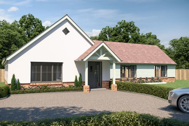 Thumbnail Detached bungalow for sale in Fletchers Lane, Sidlesham, Chichester