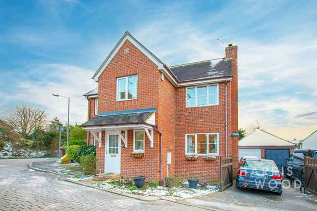 Thumbnail 4 bed detached house to rent in Swans Pasture, Chelmsford, Essex