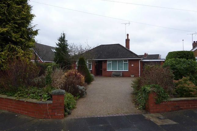 Thumbnail Detached bungalow to rent in West Way, Sandbach