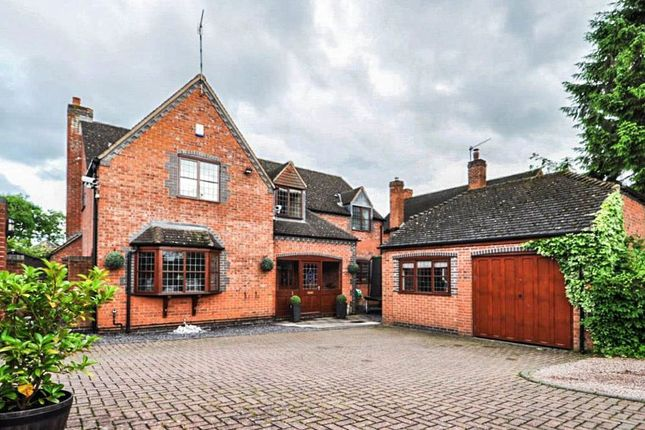 Thumbnail Detached house for sale in The Tryst, Bromsgrove
