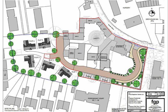 Thumbnail Land for sale in Garden Street, Penkhull, Stoke-On-Trent