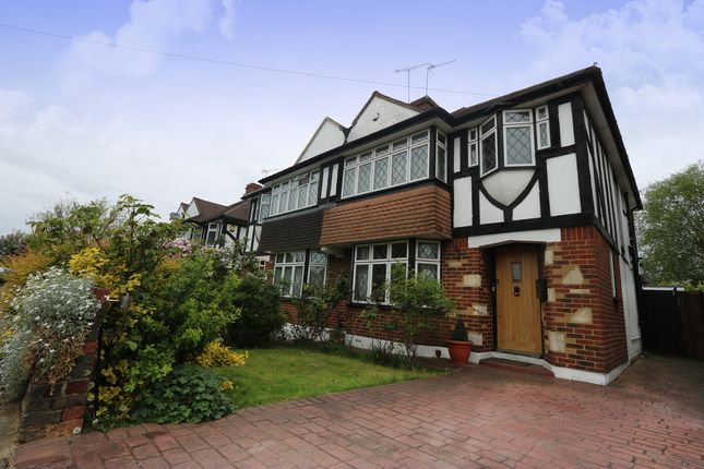 Thumbnail Semi-detached house to rent in Field End Road, Ruislip