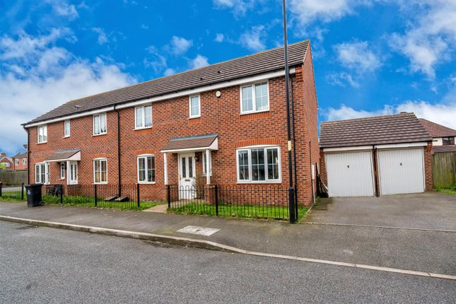 Thumbnail Semi-detached house for sale in Brundard Close, Bloxwich, Walsall