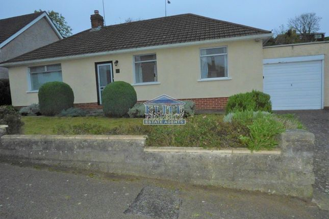 Thumbnail Detached bungalow for sale in Andrew Road, Penarth