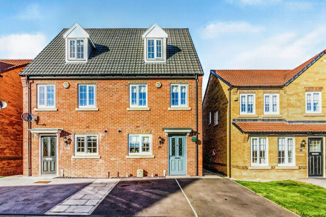 Thumbnail Semi-detached house for sale in Gower Way, Upper Haugh, Rotherham