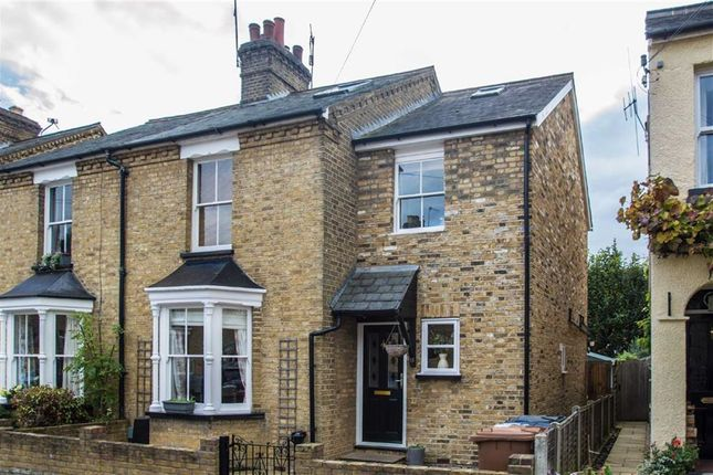 Thumbnail Semi-detached house for sale in Parkhurst Road, Bengeo, Herts