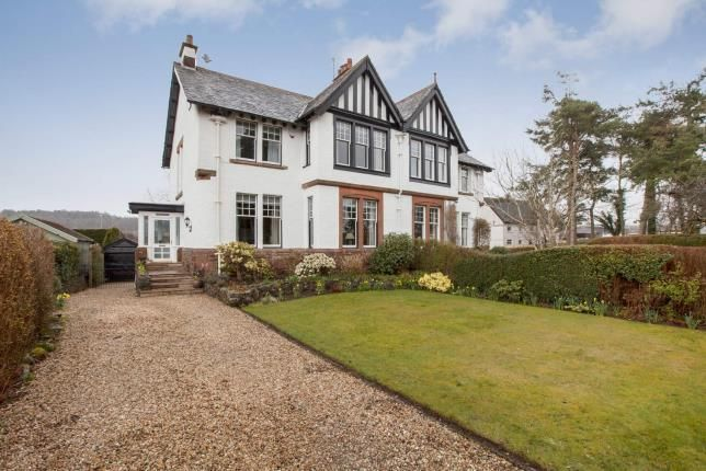 Thumbnail Semi-detached house for sale in Knockbuckle Road, Kilmacolm