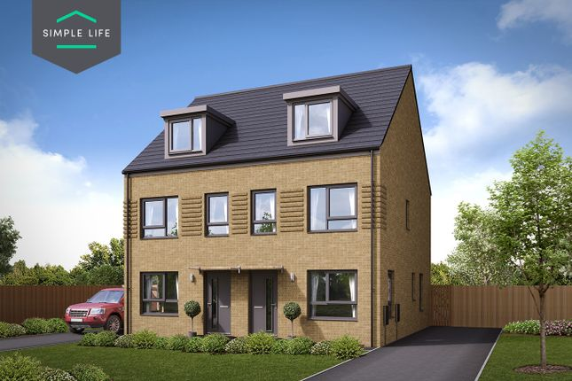 Thumbnail Semi-detached house to rent in Plot 63, 232 Queen Mary Road, Sheffield