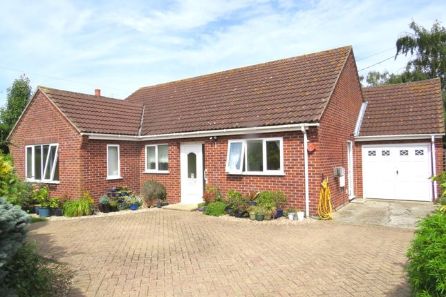 Thumbnail Detached bungalow for sale in Dereham Road, Garvestone, Norwich