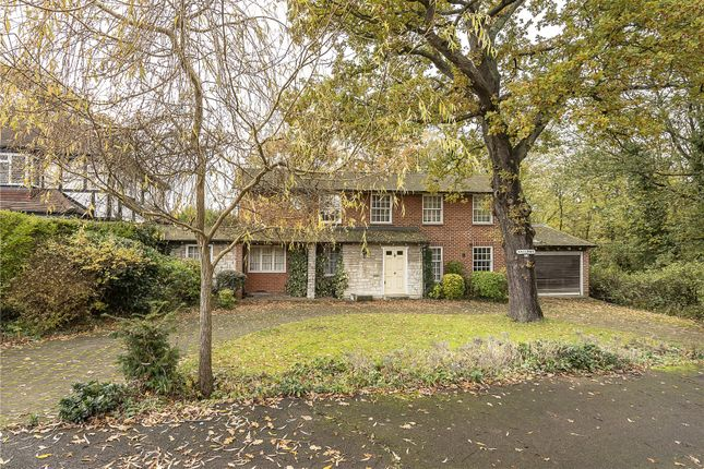 Thumbnail Detached house for sale in Grange Avenue, Totteridge