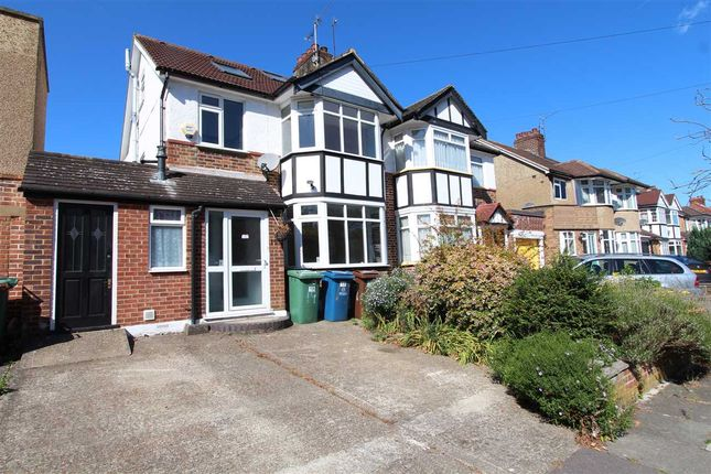 Thumbnail Semi-detached house to rent in Durley Avenue, Pinner