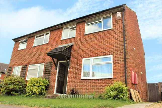 Thumbnail Semi-detached house to rent in Derwent Rise, Flitwick