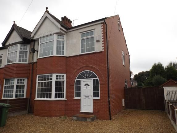 Thumbnail Semi-detached house for sale in Barton Road, Stretford, Manchester, Greater Manchester