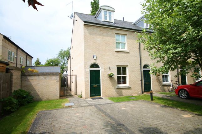 Thumbnail End terrace house to rent in Ivy Court, Cambridge