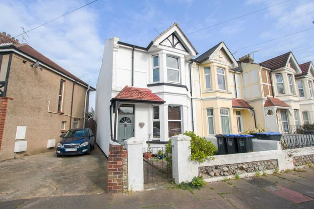 Thumbnail End terrace house for sale in Wigmore Road, Broadwater, Worthing