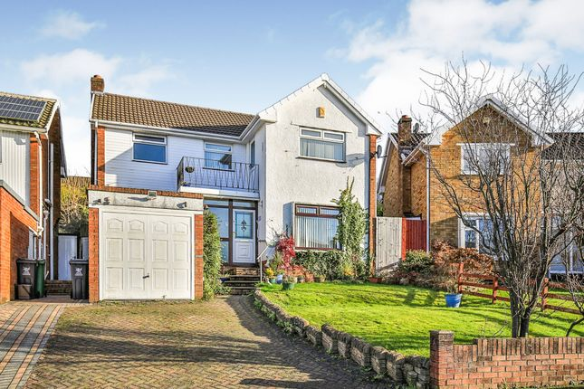 Thumbnail Detached house for sale in Woolaston Avenue, Lakeside, Cardiff
