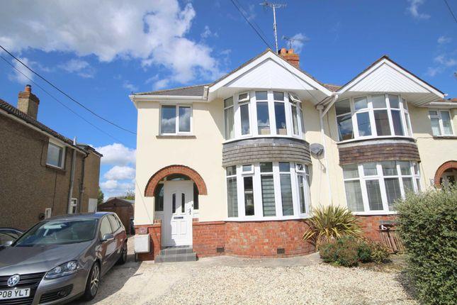 Thumbnail Semi-detached house to rent in Perrys Lane, Wroughton, Swindon
