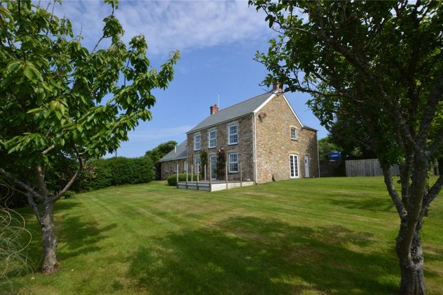 Thumbnail Detached house for sale in Treamble, Rose, Truro, Cornwall