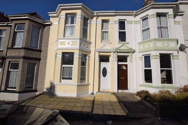 Thumbnail Terraced house for sale in Glendower Road, Peverell, Plymouth, Devon